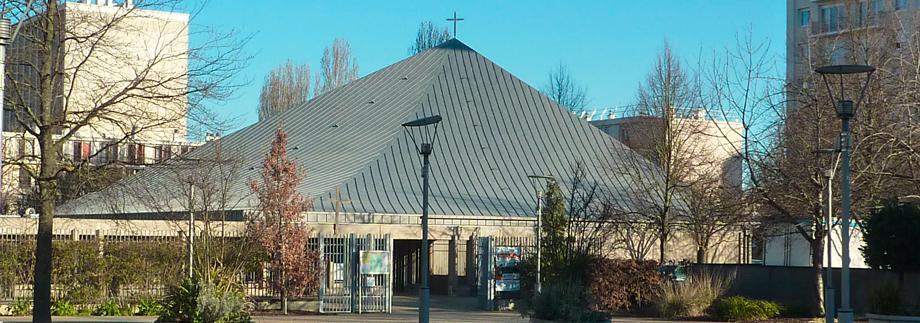 Photo extérieure de l'église
